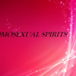 Homosexual Spirits