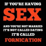 The Danger Of Fornication And Dating In The Life Of Christian